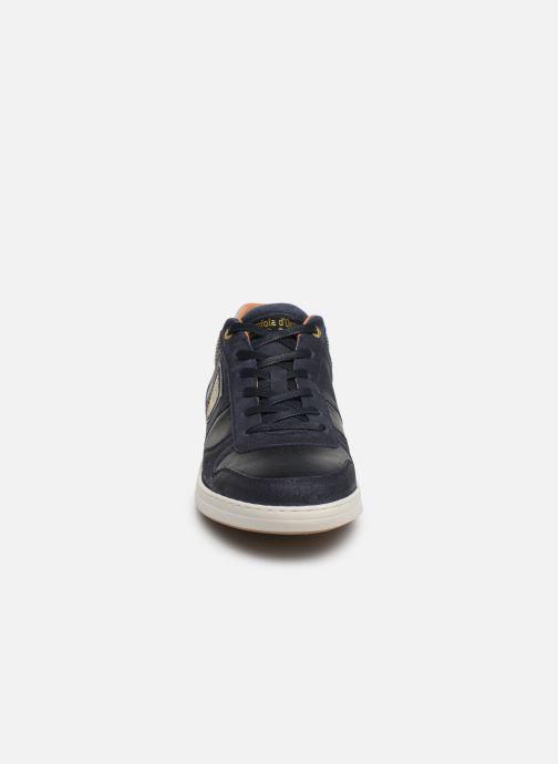 Baskets Pantofola d'Oro Milito Uomo Low Bleu vue portées chaussures