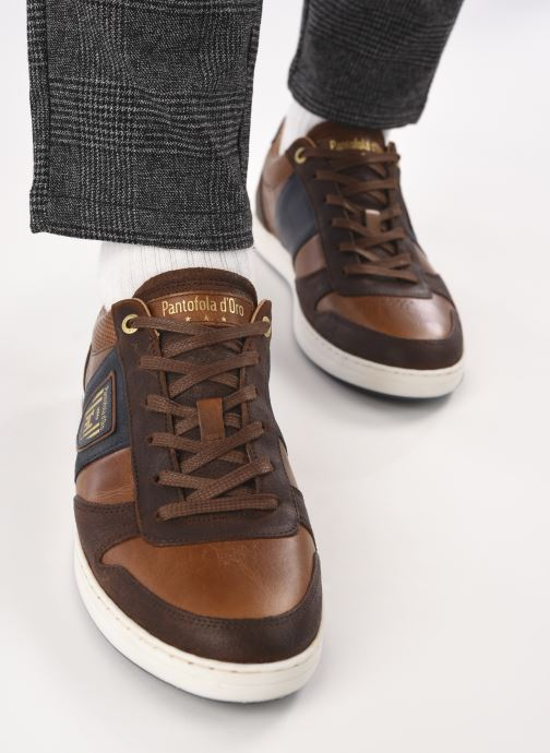 Baskets Pantofola d'Oro Milito Uomo Low Marron vue bas / vue portée sac