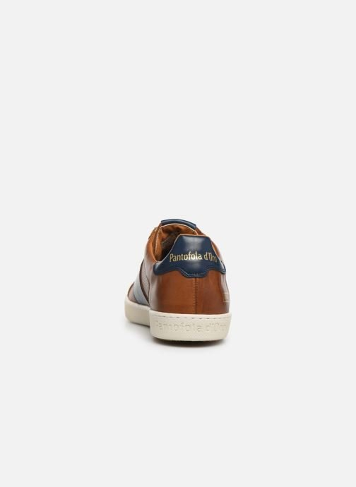 Trainers Pantofola d'Oro Sorrento Uomo Low Brown view from the right