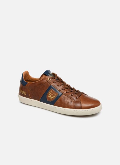 Trainers Pantofola d'Oro Sorrento Uomo Low Brown detailed view/ Pair view