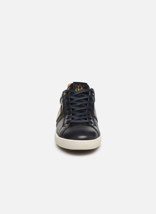 Sneaker Pantofola d'Oro Sorrento Uomo Low blau schuhe getragen