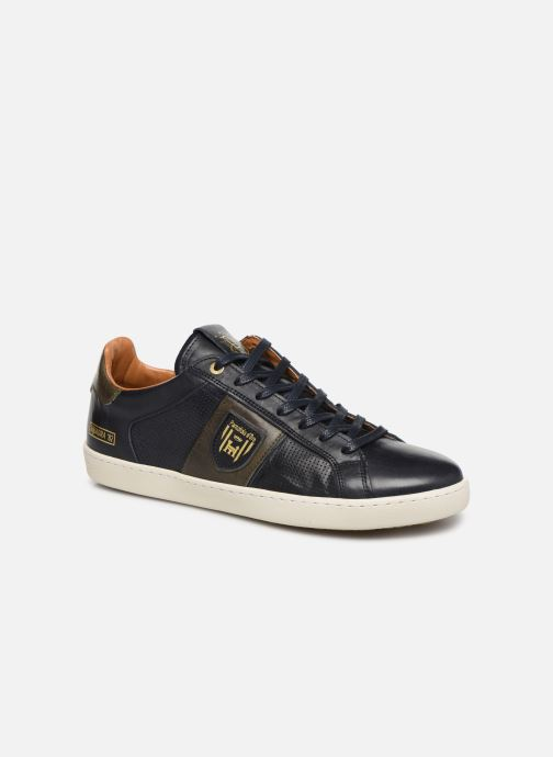 Trainers Pantofola d'Oro Sorrento Uomo Low Blue detailed view/ Pair view