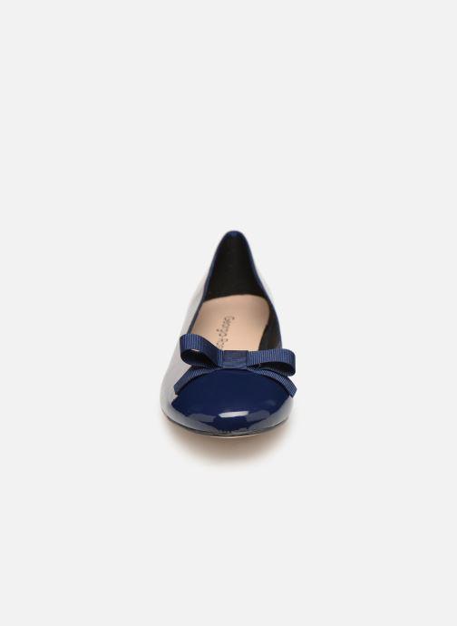 Ballerines Georgia Rose Siana Bleu vue portées chaussures