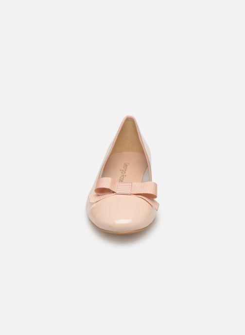 Ballerines Georgia Rose Siana Beige vue portées chaussures