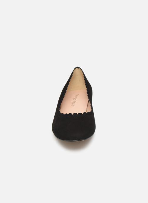 Ballerines Georgia Rose Safesti Noir vue portées chaussures