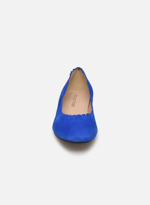 Ballerines Georgia Rose Safesti Bleu vue portées chaussures