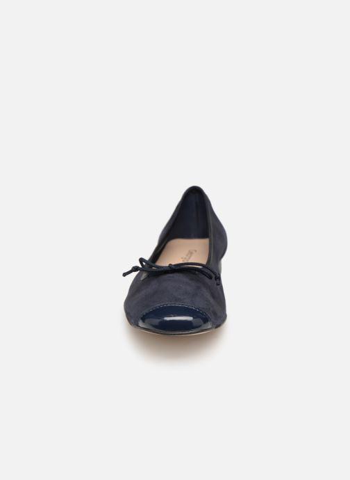 Ballerines Georgia Rose Sauchic Bleu vue portées chaussures