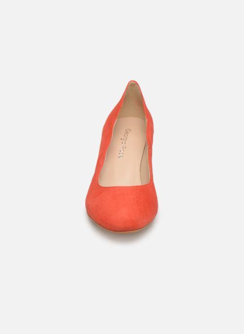 Escarpins Georgia Rose Sawavy Rouge vue portées chaussures