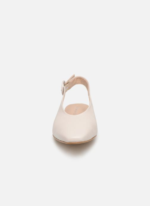 Ballerines Georgia Rose Styla Blanc vue portées chaussures