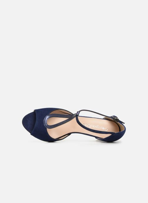 Pumps Georgia Rose Sagouta blau ansicht von links