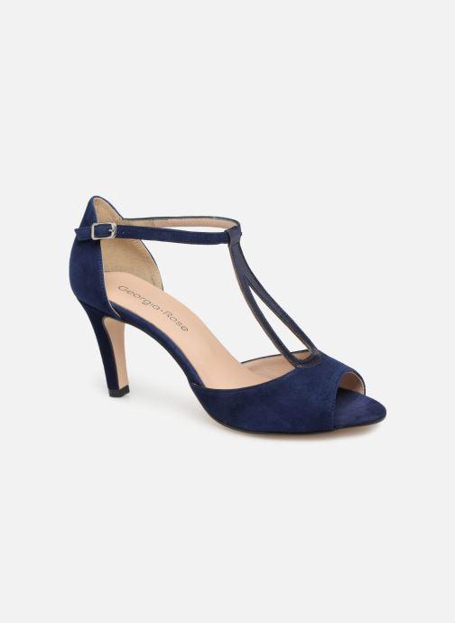 High heels Georgia Rose Sagouta Blue detailed view/ Pair view