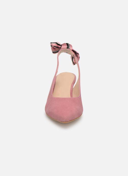 Zapatos de tacón Georgia Rose Sabowa Rosa vista del modelo