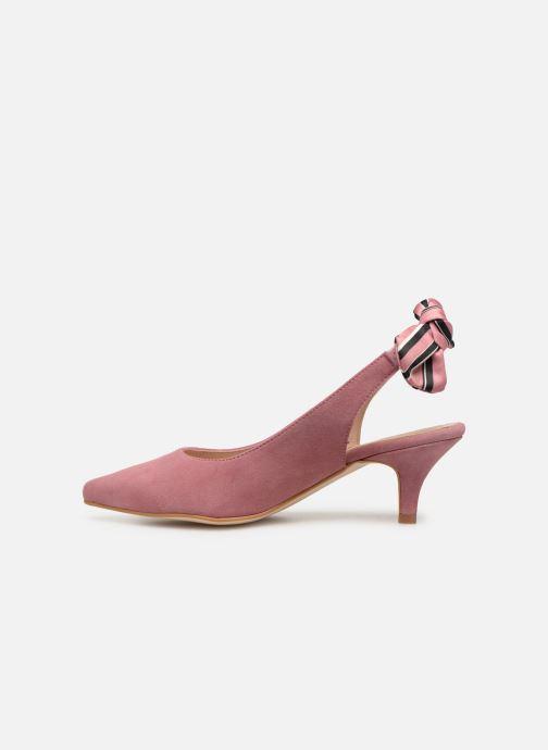 Zapatos de tacón Georgia Rose Sabowa Rosa vista de frente