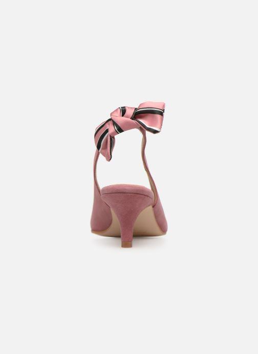 Zapatos de tacón Georgia Rose Sabowa Rosa vista lateral derecha