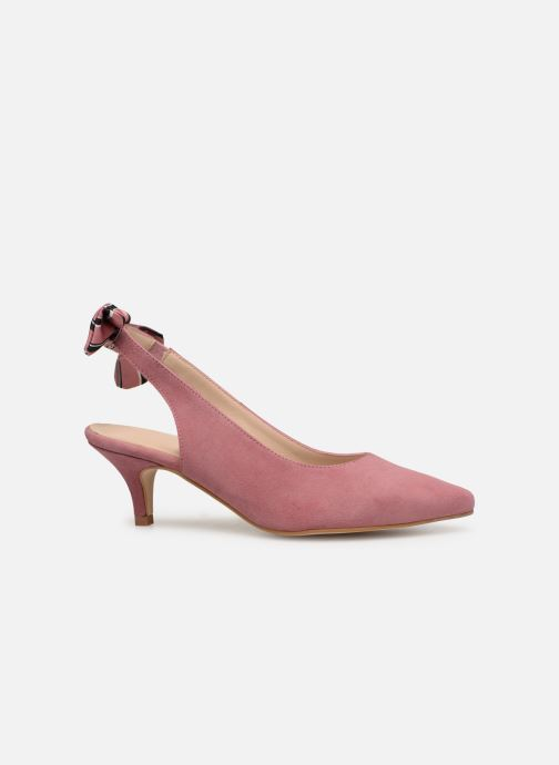 Zapatos de tacón Georgia Rose Sabowa Rosa vistra trasera