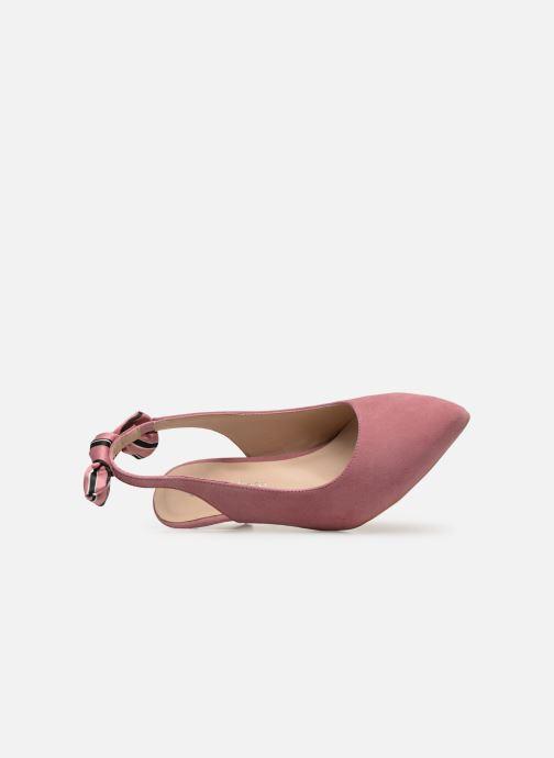 Zapatos de tacón Georgia Rose Sabowa Rosa vista lateral izquierda