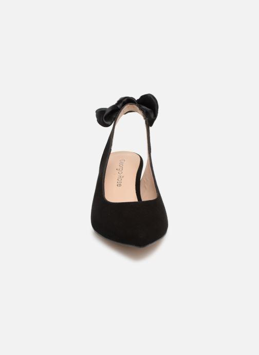 Escarpins Georgia Rose Sabowa Noir vue portées chaussures