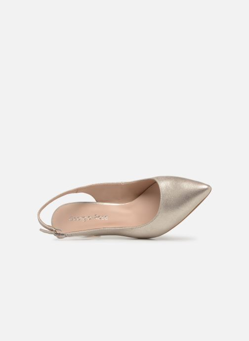 Pumps Georgia Rose Sandria gold/bronze ansicht von links