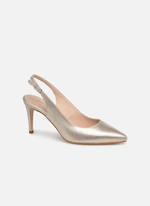 Pumps Georgia Rose Sandria Goud en brons detail