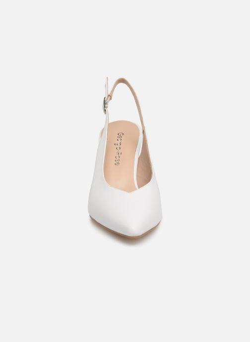 Zapatos de tacón Georgia Rose Sacoma Blanco vista del modelo