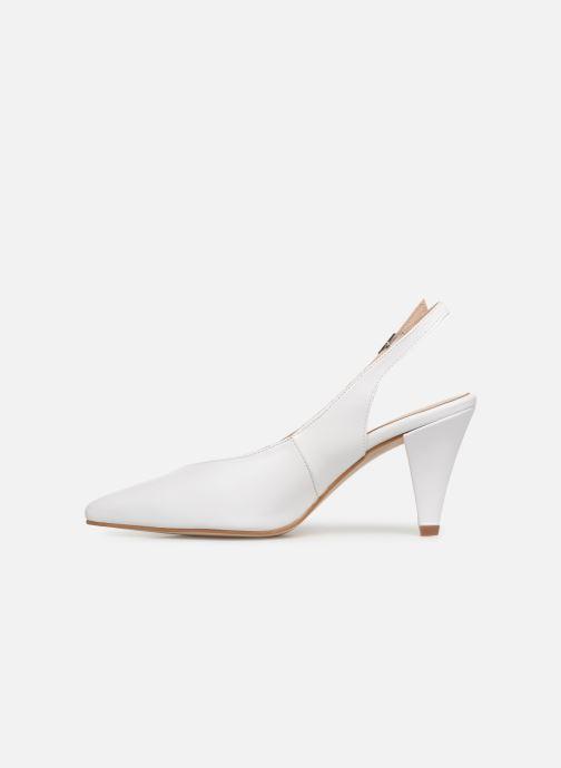 Zapatos de tacón Georgia Rose Sacoma Blanco vista de frente