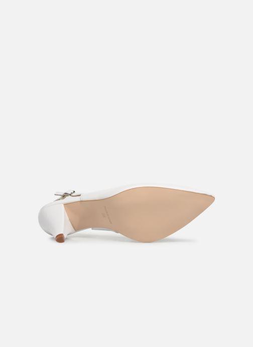 Zapatos de tacón Georgia Rose Sacoma Blanco vista de arriba