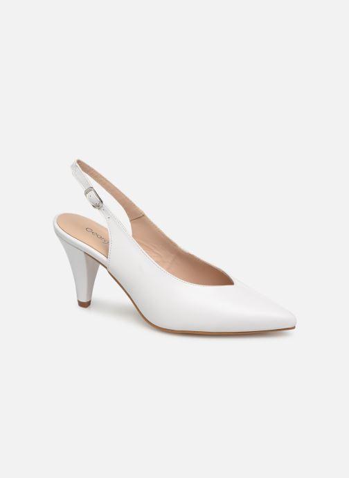 Zapatos de tacón Georgia Rose Sacoma Blanco vista de detalle / par
