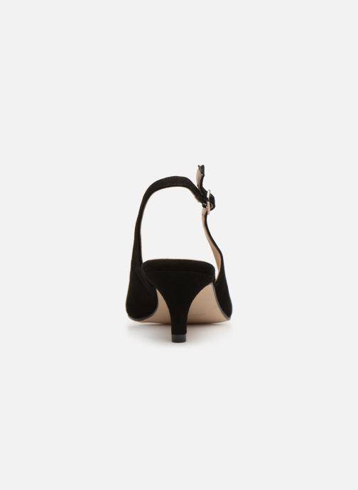 Zapatos de tacón Georgia Rose Sachal Negro vista lateral derecha