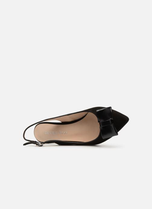 Zapatos de tacón Georgia Rose Sachal Negro vista lateral izquierda