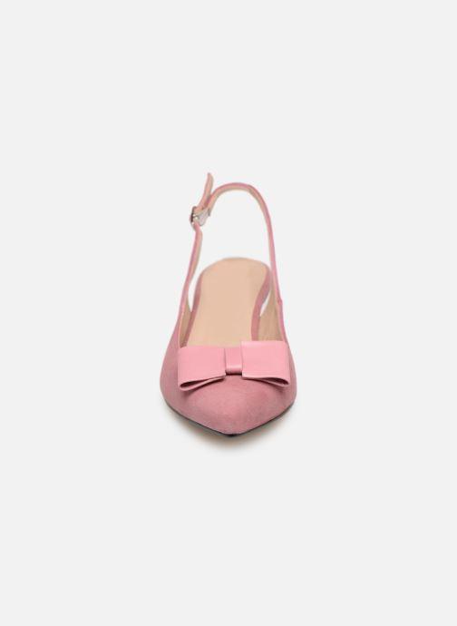 Zapatos de tacón Georgia Rose Sachal Rosa vista del modelo