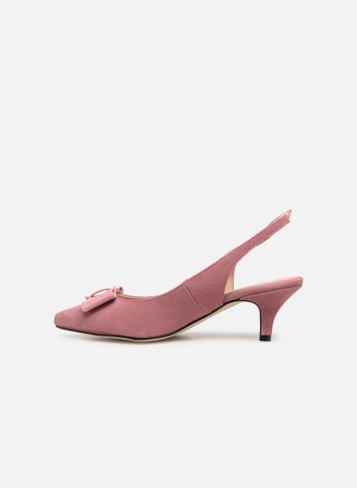 Zapatos de tacón Georgia Rose Sachal Rosa vista de frente