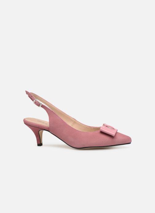Zapatos de tacón Georgia Rose Sachal Rosa vistra trasera
