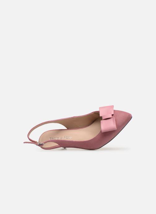 Zapatos de tacón Georgia Rose Sachal Rosa vista lateral izquierda
