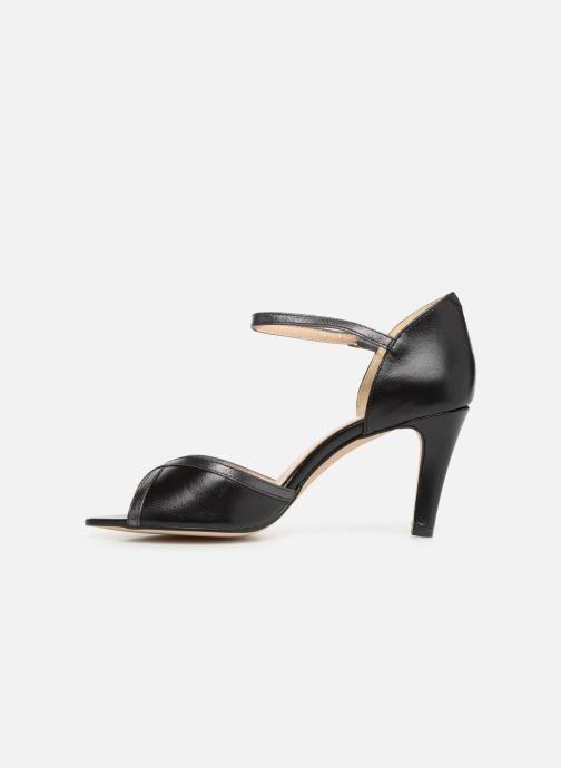 Zapatos de tacón Georgia Rose Sandrima Negro vista de frente