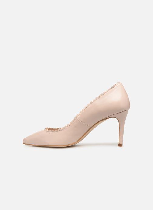 Zapatos de tacón Georgia Rose Swanna Beige vista de frente