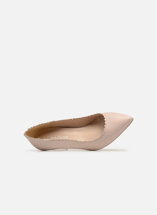 Zapatos de tacón Georgia Rose Swanna Beige vista lateral izquierda