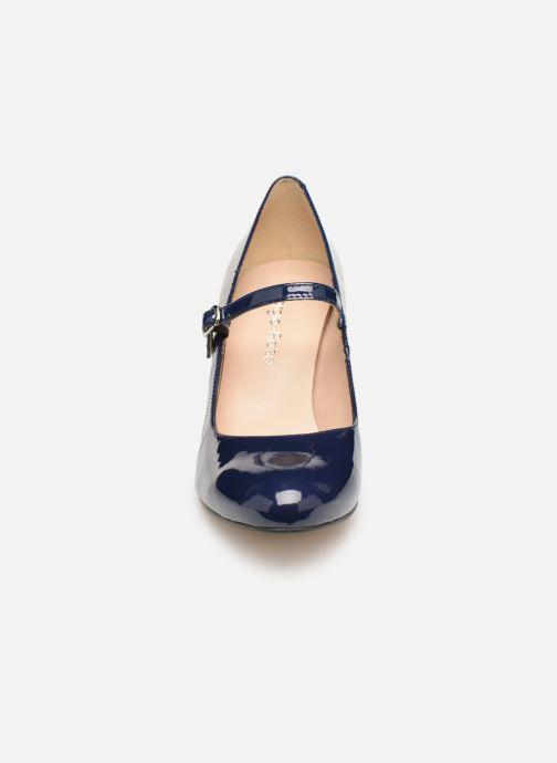 Zapatos de tacón Georgia Rose Sheima Azul vista del modelo