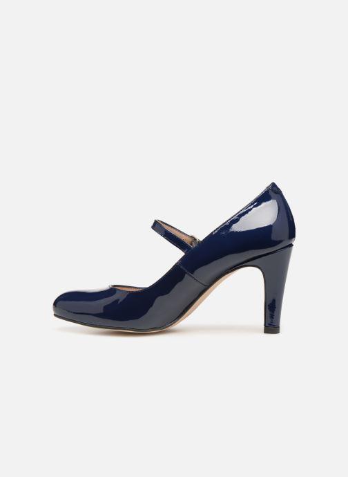 Zapatos de tacón Georgia Rose Sheima Azul vista de frente