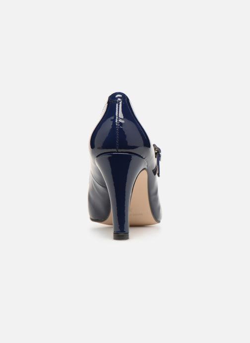 Zapatos de tacón Georgia Rose Sheima Azul vista lateral derecha