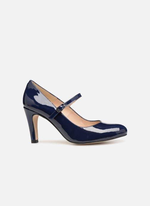 Zapatos de tacón Georgia Rose Sheima Azul vistra trasera