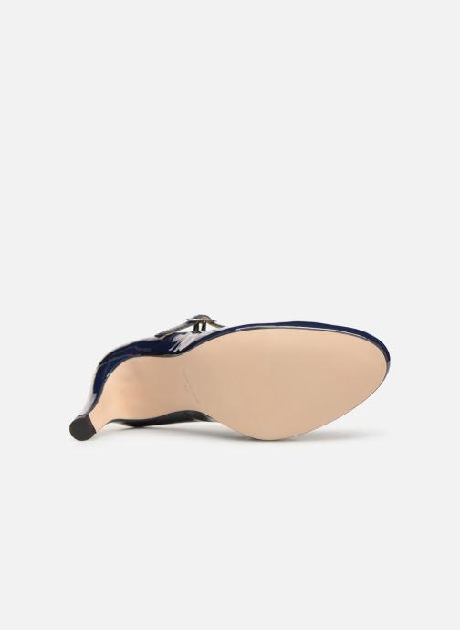 Zapatos de tacón Georgia Rose Sheima Azul vista de arriba