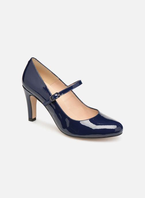 High heels Georgia Rose Sheima Blue detailed view/ Pair view