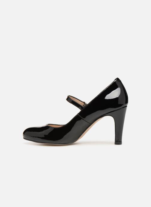 Zapatos de tacón Georgia Rose Sheima Negro vista de frente