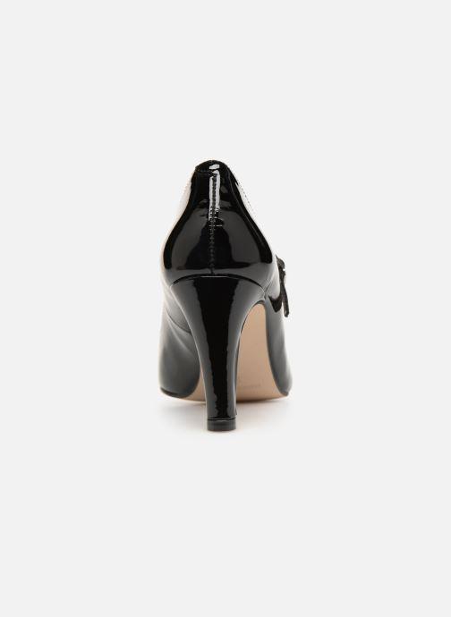 Zapatos de tacón Georgia Rose Sheima Negro vista lateral derecha