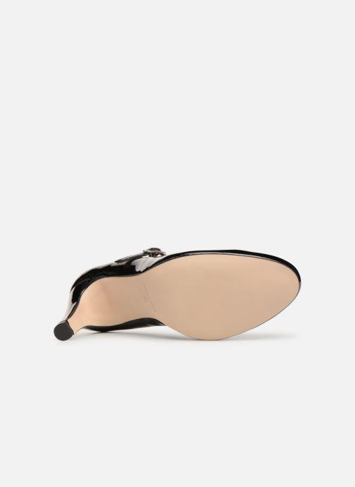 Zapatos de tacón Georgia Rose Sheima Negro vista de arriba