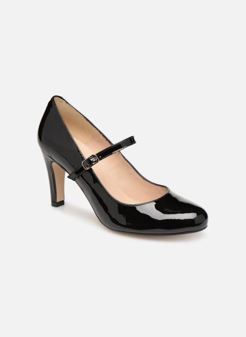 Zapatos de tacón Georgia Rose Sheima Negro vista de detalle / par