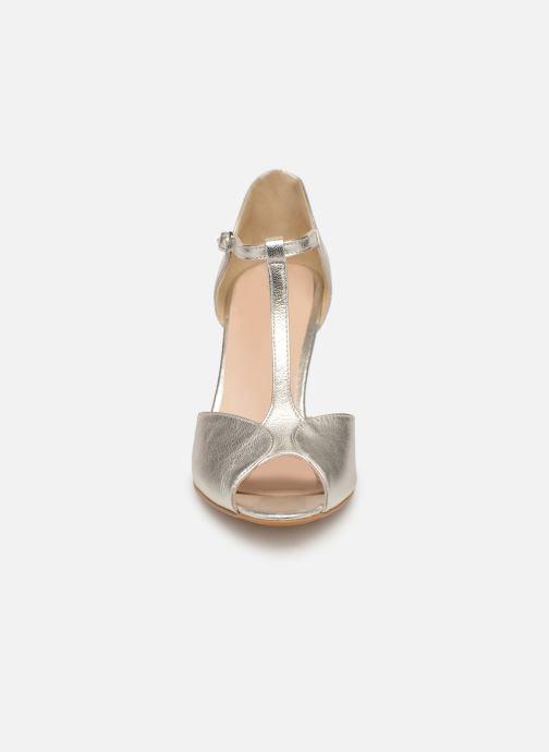 Escarpins Georgia Rose Souazic Argent vue portées chaussures