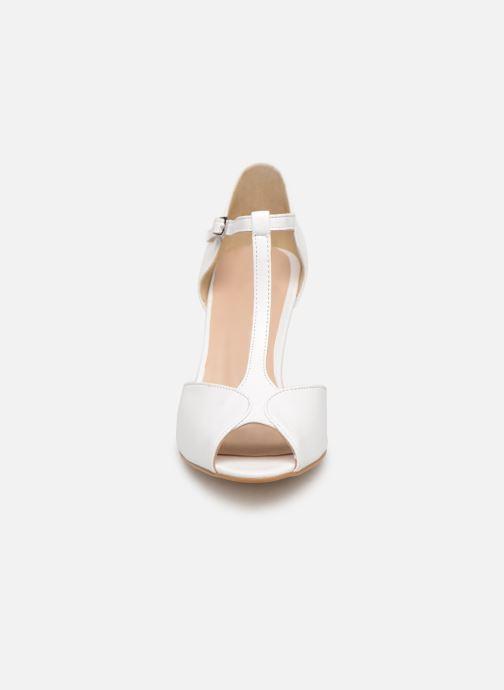 Escarpins Georgia Rose Souazic Blanc vue portées chaussures