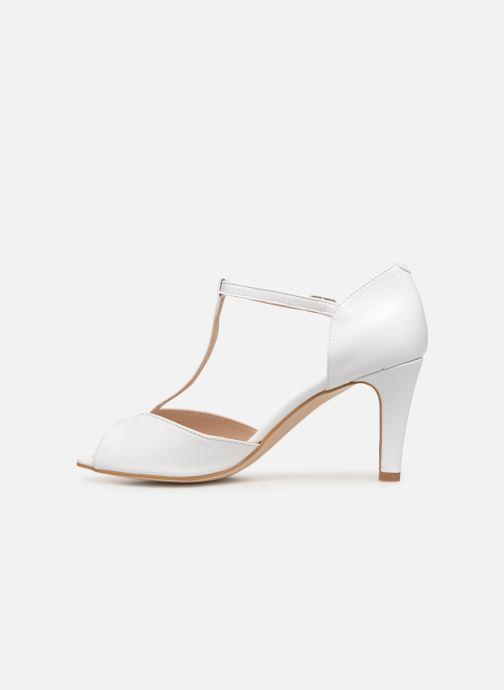Zapatos de tacón Georgia Rose Souazic Blanco vista de frente