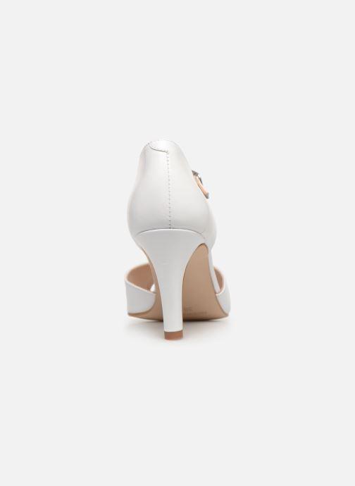 Zapatos de tacón Georgia Rose Souazic Blanco vista lateral derecha